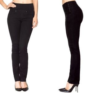 Spanx The Signature Straight Side Zip Jeans